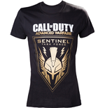 Call Of Duty - Gold Sentinel (T-SHIRT Uomo )