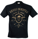 Avenged Sevenfold - Shield And Sickle (T-SHIRT Uomo )