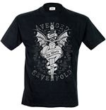 Avenged Sevenfold - Cloak And Dagger (T-SHIRT Uomo )