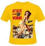 Attack Of The 50FT Woman - Poster (T-SHIRT Uomo )