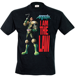 Anthrax - I Am The Law (T-SHIRT Uomo )