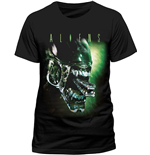 T-shirt Aliens - Alien Head