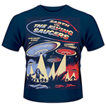 Earth VS. The Flying Saucers (T-SHIRT Uomo )