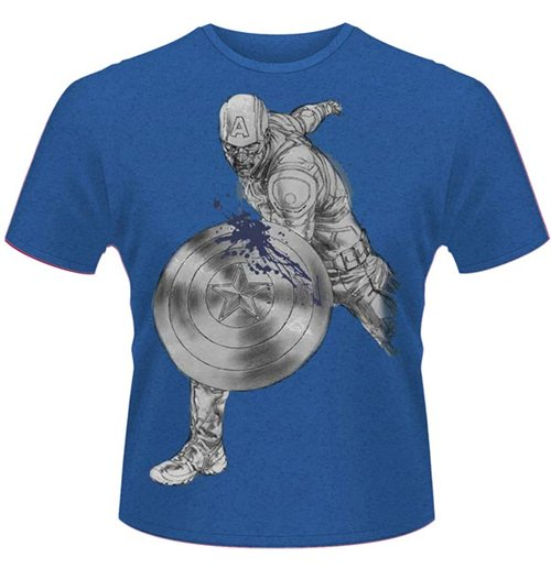 Avengers - Age Of Ultron - Captain A Splash (unisex )