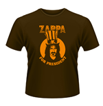 Frank Zappa - Zappa For President (BROWN) (unisex )