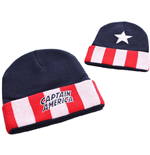 Captain America - Star And Stripes Beanie (Berretto Unisex)