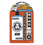 Star Wars - Stormtrooper Pencil  Eraser  Sharpener  Ruler & Notepad (Set Cancelleria)