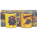 Superman - Yellow Set Of 2 (Set Mini Tazze)