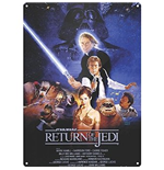 Star Wars - Return Of The Jedi (Targa Acciaio)