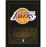 Los Angeles Lakers NBA poster quadro con cornice e plexiglas
