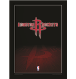 Houston Rockets NBA poster quadro con cornice e plexiglas