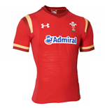 Maglia Galles rugby 2015-2016 Home (Rosso)