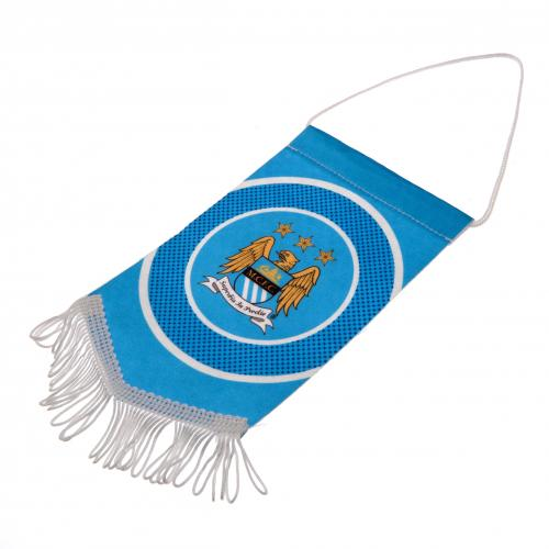 Mini Gagliardetto Manchester City