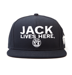 Jack Daniels - Jack Lives Here - Cappellino Con Visiera