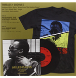 "Vinile Miles Davis - Miles Runs The Voodoo Down / In A Silent Way (7"" & T Shirt Box Set)"