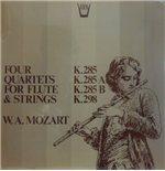 Vinile Mozart Wolfgang Amadeus - Quartets For Flute And Strings: K 285b, 298, 285, 285a  - Redel Kurt  Fl/members Of The Koeckert Quartet