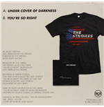 "Vinile Strokes (The) - Under Cover Of Darkness / You're So Right (7""+ T-Shirt)"