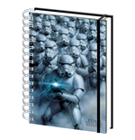 Star Wars - 3d Stormtroopers (A5 Notebook)