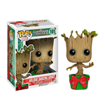 Pupazzo Bobble-Head Guardians of the Galaxy Holiday Dancing Groot 10 cm