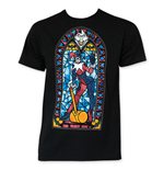 T-shirt Harley Quinn Stained Glass
