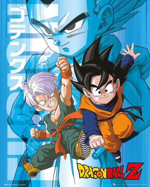 Poster Dragon ball Z Trunks and Goten