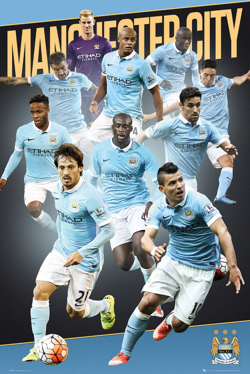 Poster Manchester City 175901
