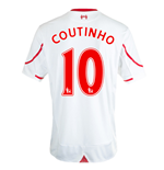 Maglia Liverpool FC 2015-2016 Away (Coutinho 10)
