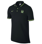 Polo Manchester City 2015-2016 (Nero)