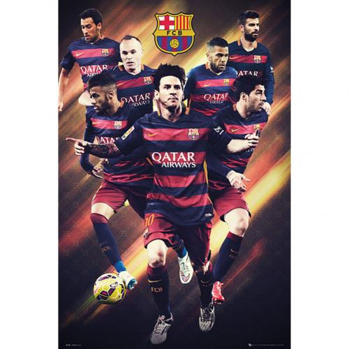 Poster Barcellona Players 28