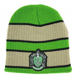 Harry Potter - Beanie With Slytherin Patch Logo ( Berretto)