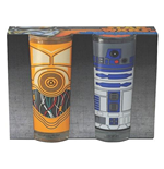 Star Wars - R2d2 & C3p0 2 Pack (Set Bicchieri)