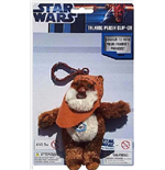 Star Wars - Portachiavi In Peluche Con Suono Wicket 10 Cm