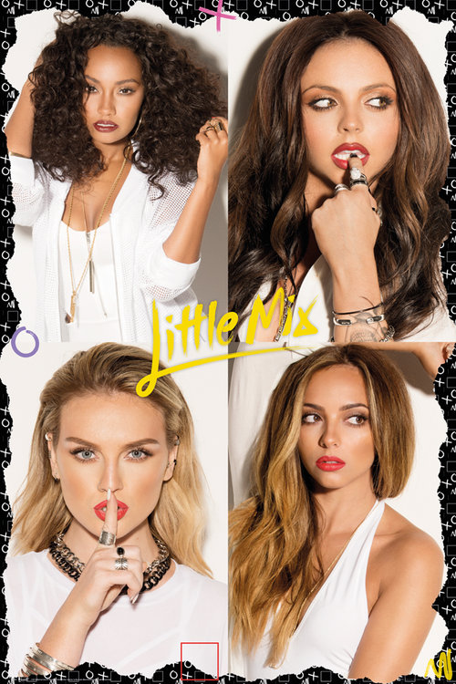 Poster Little Mix Squares