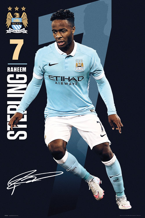 Poster Manchester City 177443
