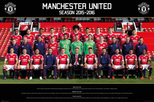 Poster Manchester United 177444
