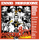 Vinile Ennio Morricone - Queimada (Clear & Orange Mixed Vinyl+Poster)