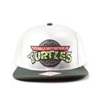 Turtles - Logo. Snap Back Cap. White/green ( Cappellino)
