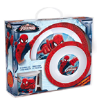 Spider-Man - Set 2 Piatti E 1 Tazza In Plastica