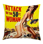 Plan 9 - Attack Of The 50ft Woman - Attack Of The 50ft Woman (Cuscino)