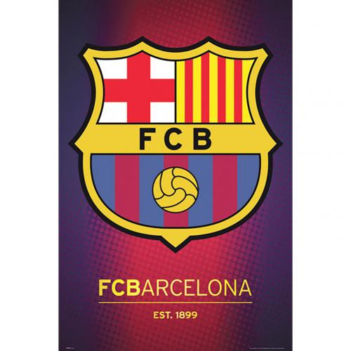 Poster Barcellona Crest 54