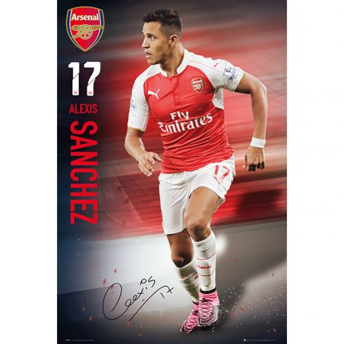 Poster Arsenal - Sanchez 49