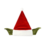 Cappello Star Wars Yoda Santa Claus
