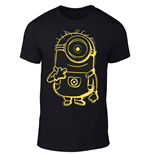 T-shirt Minions Yellow Shadow