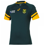 T-shirt / Maglietta Sud Africa rugby Home