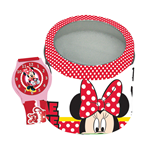 Orologio Da Polso In Box Latta Minnie
