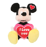 Peluche I Love You Topolino
