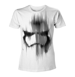 T-shirt STAR WARS VII The Force Awakens Distressed Stormtrooper Small