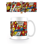 Tazza Marvel Superheroes Iron Man Panels