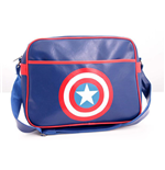 Captain America - Shield Logo Blue (Borsa A Tracolla)