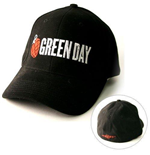 Green Day - Grenade Logo Black Flex (Cappellino)